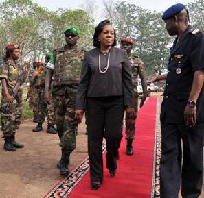 Centrafrique : la présidente de la transition crée un conseil national de sécurité