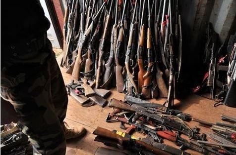 Importante saisie d'armes en Centrafrique