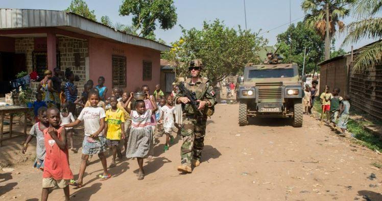 Centrafrique : Le 1er RCP sur le retour et le 92e RI sur le départ