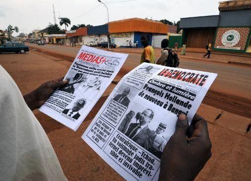 Deux journaux centrafricains momentanément interdits de parution