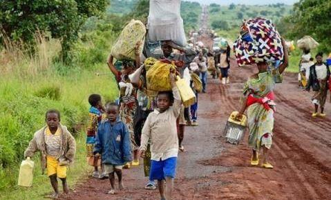 Des milliers de civils ont fui de récents combats en Centrafrique