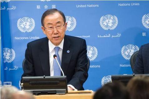 ONU : BAN SALUE L'ANNONCE D'UN NOUVEAU GOUVERNEMENT EN CENTRAFRIQUE