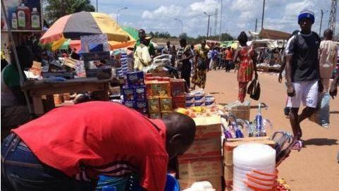 Frémissement de retour à la paix dans le quartier musulman de Bangui