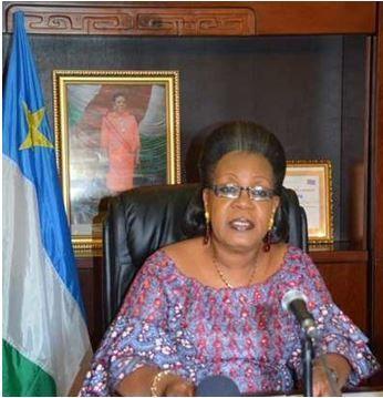 La présidente centrafricaine mise à l'écart