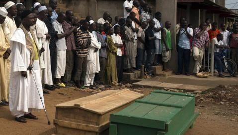 Centrafrique : les musulmans rendent hommage à leurs morts