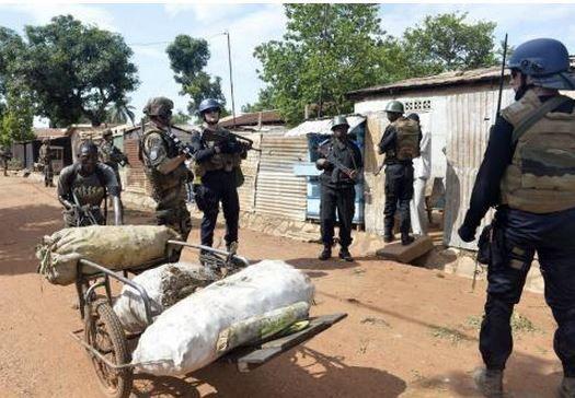 A Bangui, l'Eufor en renfort de la police pour reprendre le contrôle