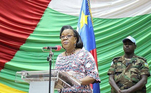 Catherine Samba-Panza décidée à poursuivre le combat contre l'insécurité en RCA