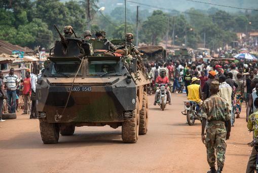 Bangui : des soldats internationaux et nationaux pris à partie à Boy Rabe vendredi