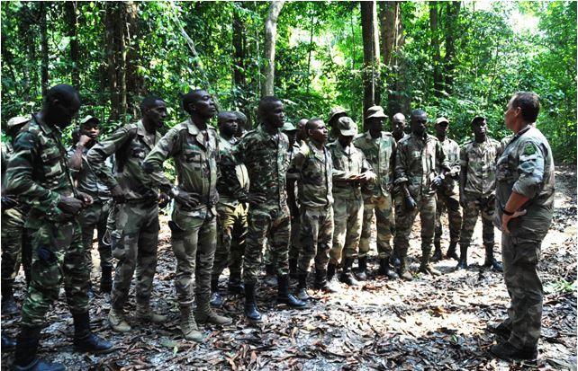 Lu pour vous : 450 soldats gabonais bientôt formés par la SGF