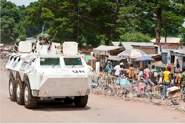 Centrafrique : l'ONU interpelle cinq personnes dans le cadre d'une opération à Bangui