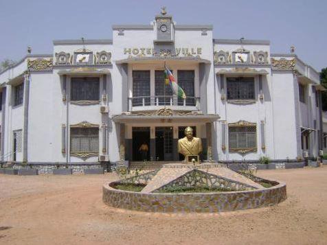 La TIKA offre du matériel informatique à la mairie de Bangui