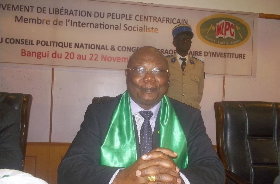 Martin ZIGUELE désigné par acclamations candidat du MLPC à la prochaine élection présidentielle