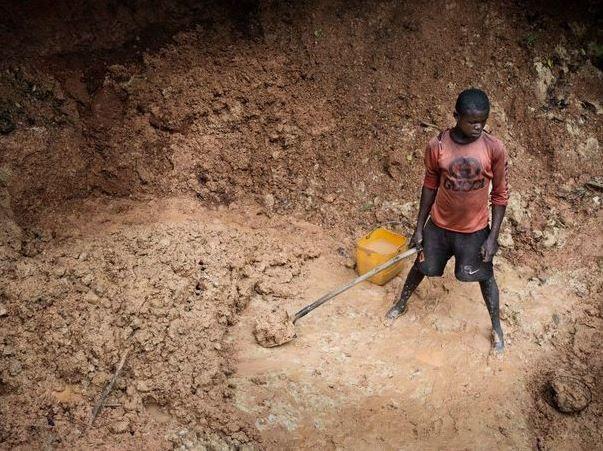 Lu pour vous : Centrafrique: diamants en terrain miné