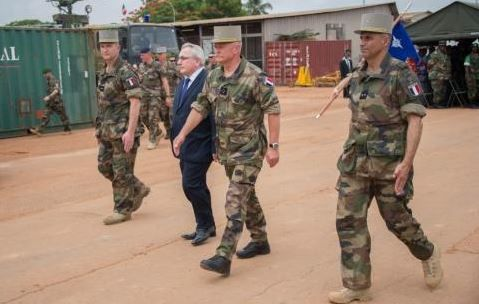 RCA: le général Bellot, commandant de l'opération Sangaris, sur RFI