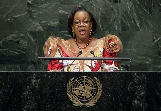 Discours de Son Excellence Mme Catherine SAMBA-PANZA, à la 13e session de l'Assemblée des Etats parties du statut de Rome