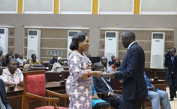Le Forum national de Bangui au menu de la rencontre Catherine Samba-Paza-Groupe 8