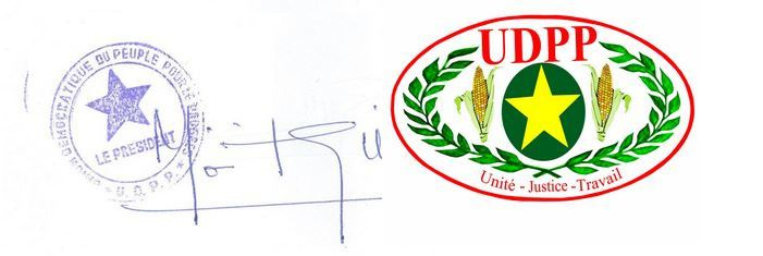 VŒUX  DE NOUVEL AN 2015 du Président de l'UDPP