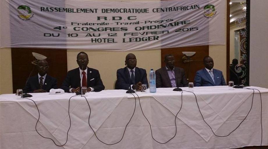 DISCOURS DU PORTE-PAROLE DE L'AFDT MARTIN ZIGUELE AU IVème CONGRES ORDINAIRE DU RDC