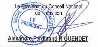 RCA : Le président du CNT réagit aux événements de Bria