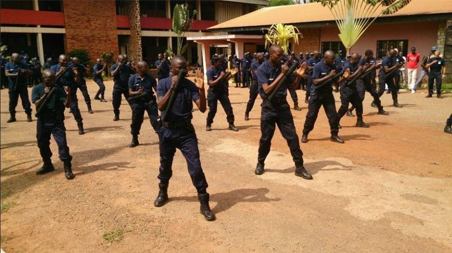 RCA : 120 policiers et gendarmes formés par l'EUFOR
