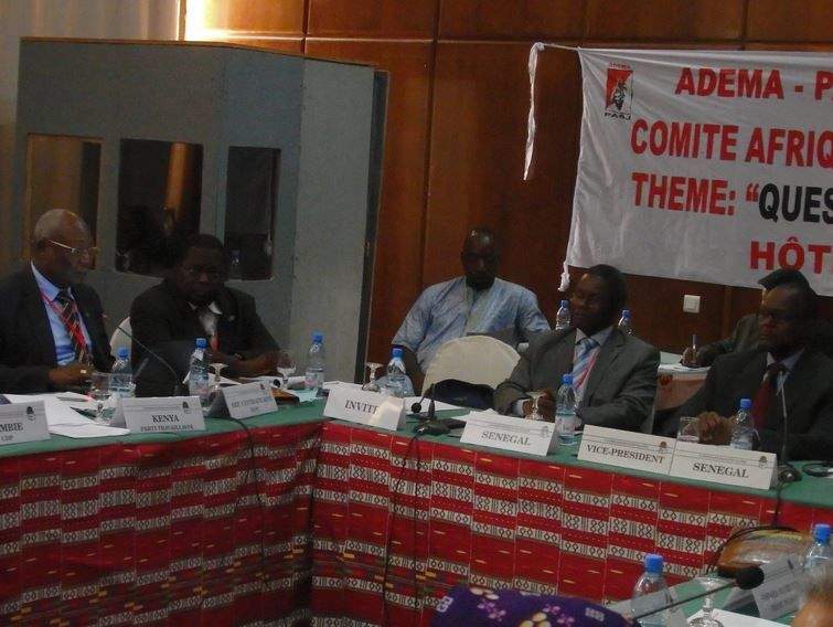 Intervention du camarade Martin  ZIGUELE au Comité Afrique de l'Internationale Socialiste  à Bamako