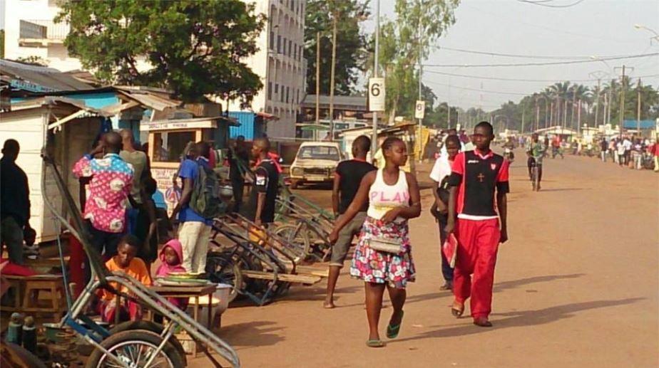Centrafrique/ Bangui : Une autre marche pour la cohésion sociale sur l'avenue Koudoukou