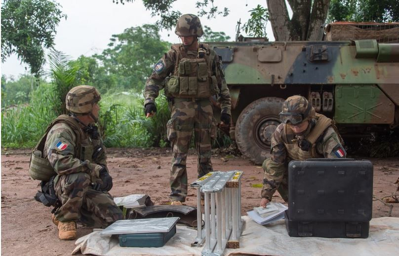Lu pour vous : Sangaris : Destruction d'une munition à Sakpanboro