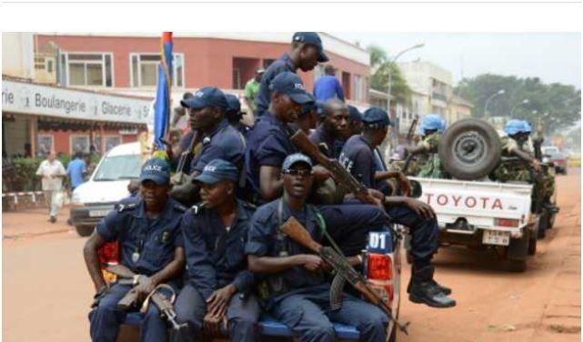 RCA: poursuite de la grève des policiers à Bangui