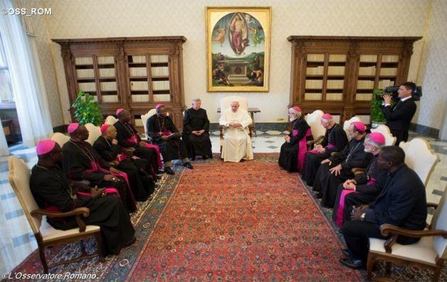 Le Pape aux Evêques de Centrafrique: &quot&#x3B;Demeurez des témoins de dialogue et de paix&quot&#x3B;