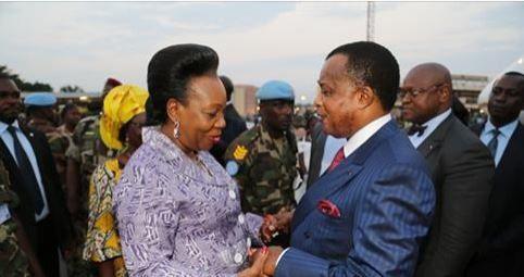 Lu pour vous : Catherine Samba-Panza règle ses comptes avec Sassou