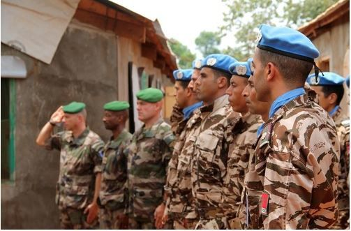 Sangaris : Transfert de la base opérationnelle avancée de Bria au profit de la MINUSCA