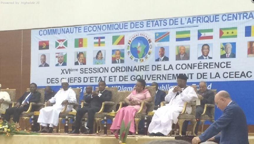 16ème Session ordinaire de la CEEAC à N'djaména