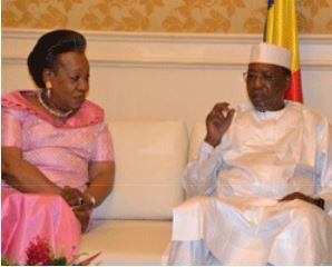 Lu pour vous : CEEAC: Entretien IDRISS DEBY ITNO et Mme Catherine Samba-Panza