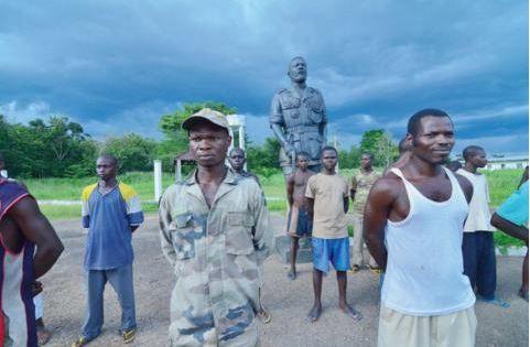 Centrafrique: les soldats fantômes du palais de Bokassa