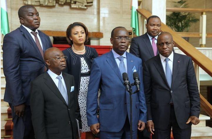 Lu pour vous : Des émissaires centrafricains reçus en audience par Ouattara pour un &quot&#x3B;réchauffement&quot&#x3B; des relations