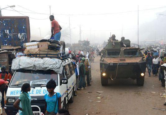Centrafrique : réduction des effectifs de Sangaris