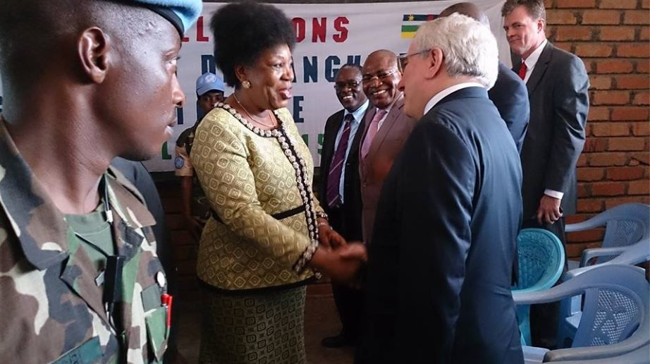 Centrafrique: la présidente de transition lance les opérations de recensement électoral