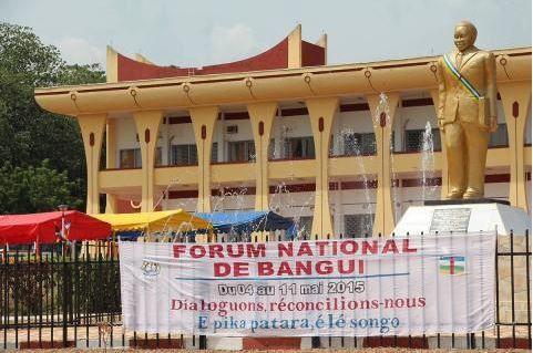 Forum national de réconciliation de Bangui : les rapports remis à la président de Transition