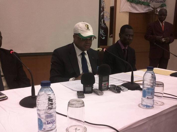 Me Nicolas TIANGAYE ouvre les travaux du Congrès ordinaire de la CRPS