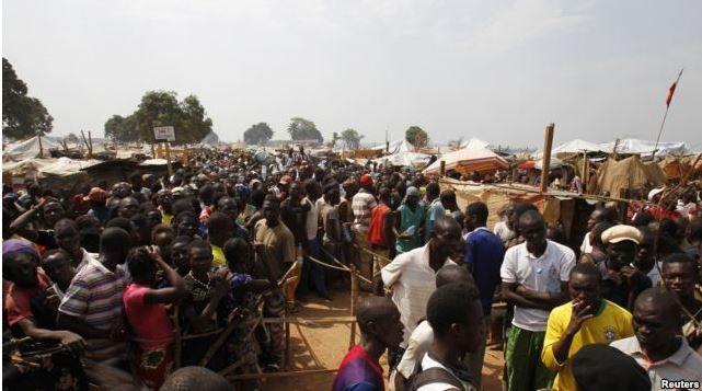 RCA: l'ONU préoccupée par l'éviction de déplacés à Bangui