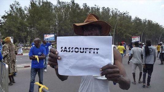 Lu pour vous : Congo : manifestation d'une ampleur inédite contre le président Sassou Nguesso