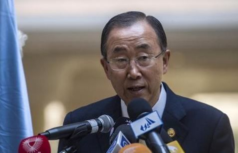 Centrafrique : Ban Ki-moon appelle la communauté internationale à ne pas relâcher ses efforts financiers