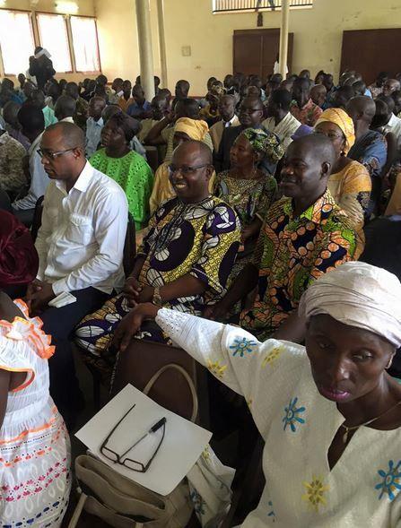 Discours de Martin ZIGUELE à l'ouverture de la journée de concertation des cadres du MLPC en vue de la préparation des prochaines échéances électorales.