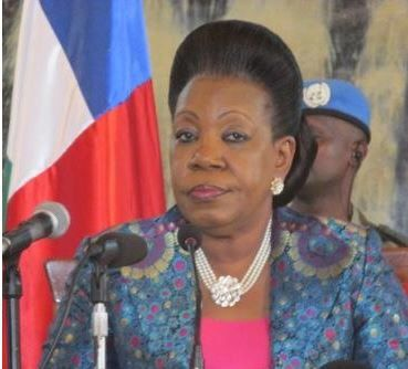 Catherine Samba Panza rencontre les forces vives de la nation