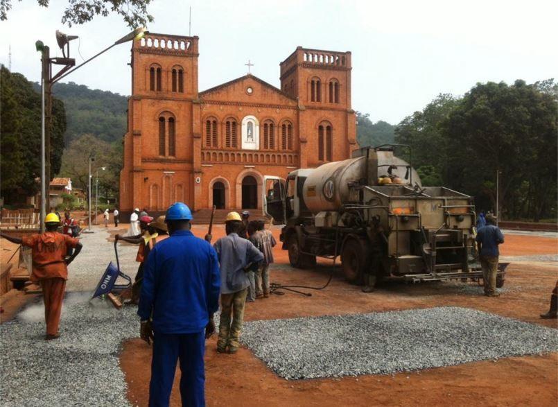 La Centrafrique se prépare à accueillir le Pape François