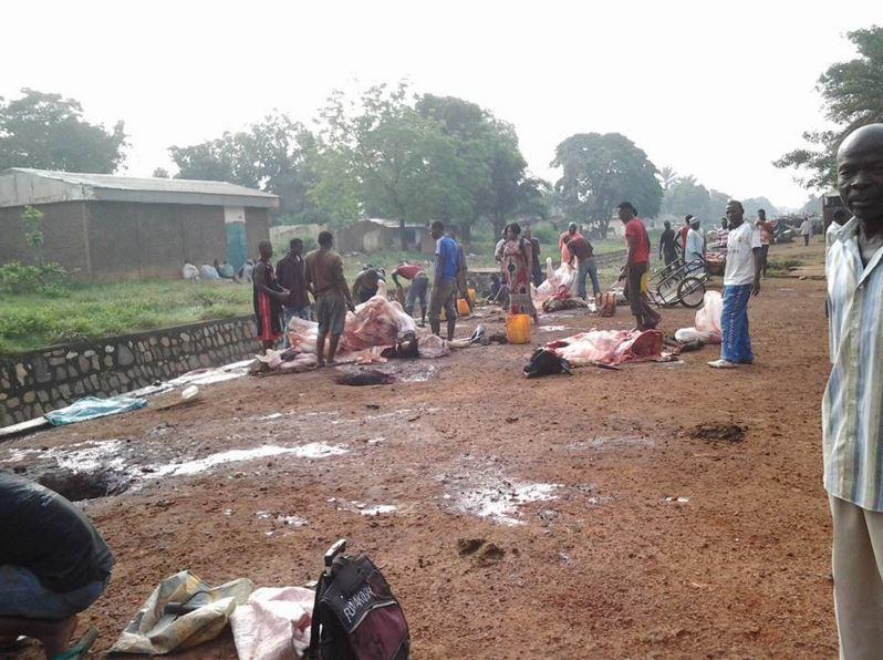 Centrafrique : des abattoirs improvisés face à la faillite de l'économie
