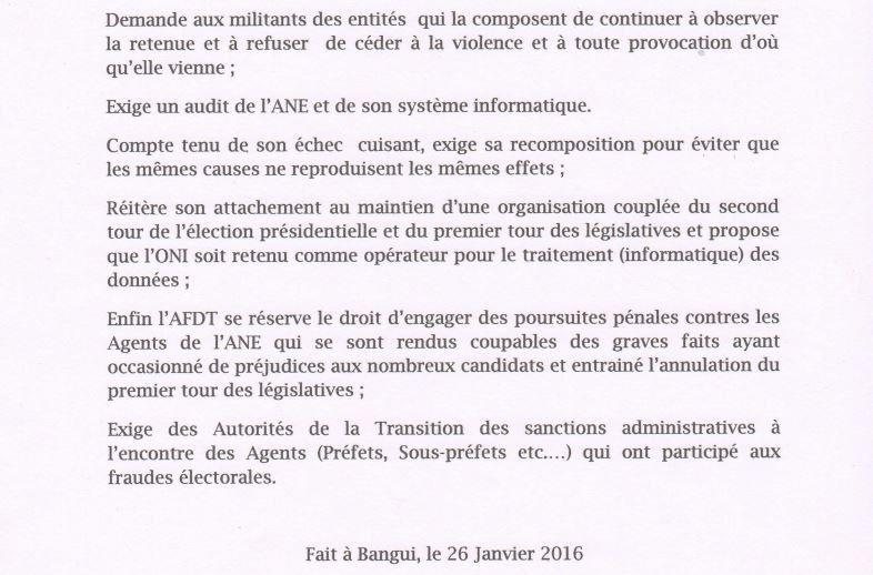 L'AFDT prend position sur l'échec du double scrutin du 30 décembre