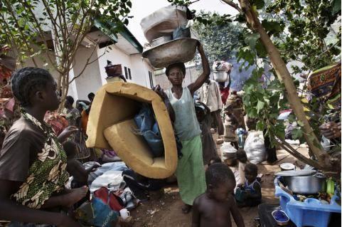 En Centrafrique, les déplacés attendent les résultats de la présidentielle pour &quot&#x3B;rentrer&quot&#x3B; chez eux