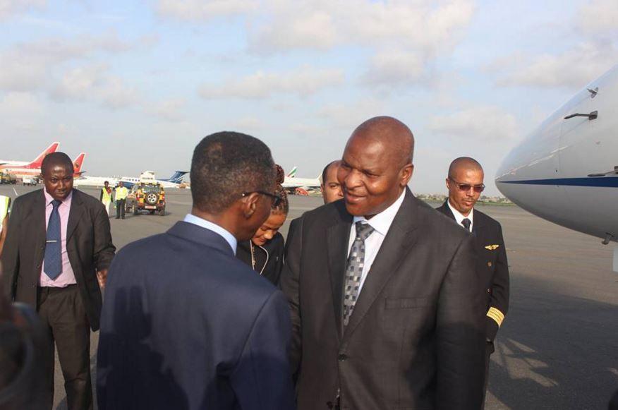 Angola : le président élu de la RCA à Luanda