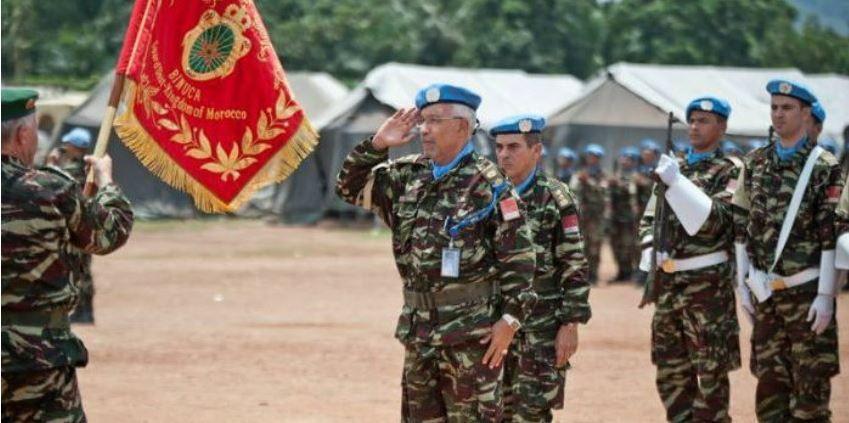 Lu pour vous : MINUSCA : les casques bleus marocains restent en Centrafrique
